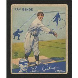 1934 Goudey #24 Ray Benge