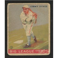 1933 Goudey #6 Jimmy Dykes RC