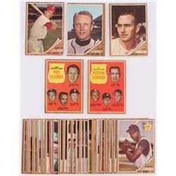 Lot of (30) 1962 Topps Baseball Cards with #26 Chris Cannizzaro, #17 John Callison, #4 John DeMerit,