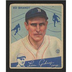 1934 Goudey #5 Ed Brandt