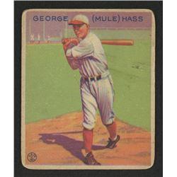 1933 Goudey #219 Mule Haas UER RC
