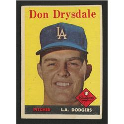 1958 Topps #25 Don Drysdale