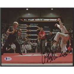 "Ralph Macchio Signed ""The Karate Kid"" 8x10 Photo (Beckett COA)"