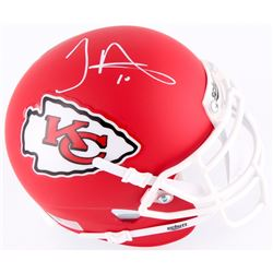 Tyreek Hill Signed Chiefs Matte Red Mini-Helmet (TSE COA)
