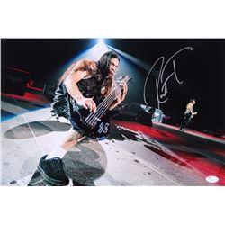 Robert Trujillo Signed 12x18 Photo (JSA COA)