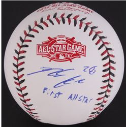 Nolan Arenado Signed 2015 All-Star Game Ball Inscribed  First All Star  (JSA COA)