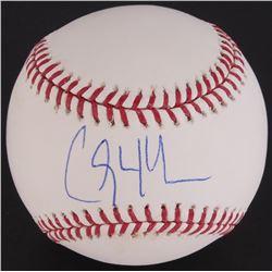 Clayton Kershaw Signed OML Baseball (Steiner COA  MLB)