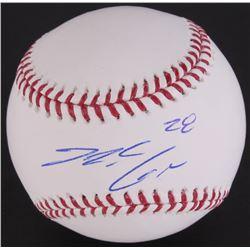 Nolan Arenado Signed OML Baseball (JSA COA)