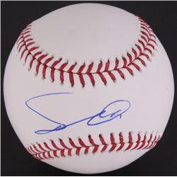 Yu Darvish Signed OML Baseball (JSA COA)