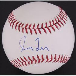 Greg Maddux Signed OML Baseball (JSA COA)