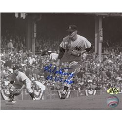 "Ralph Terry Signed Yankees 8x10 Photo Inscribed ""62 W.S. MVP"" (MAB Hologram)"