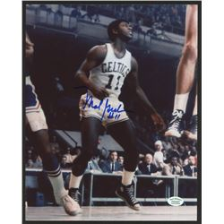 Mal Graham Signed Celtics 8x10 Photo (Hollywood Collectibles COA)