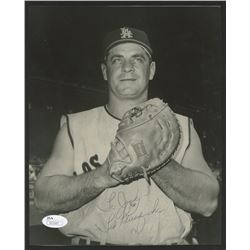 Ted Kluszewski Signed Angels 8x10 Photo (JSA COA)