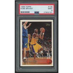 1996-97 Topps #138 Kobe Bryant RC (PSA 9)