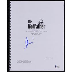 "Al Pacino Signed ""The Godfather"" Full Movie Script (Beckett COA)"