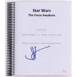 "J. J. Abrams Signed ""Star Wars: The Force Awakens"" Full Movie Script (JSA COA)"