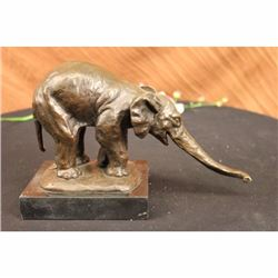 VIENNA BRONZE STATUE MARBLE ELEPHANT FIGURINE BUGATTI