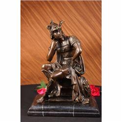 Bronze Roman Gods Mars sculpture Statue Gregoire