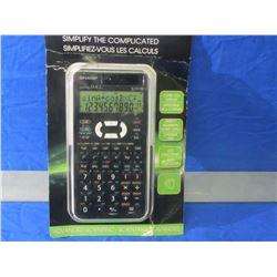 Sharp advanced scientific calculator