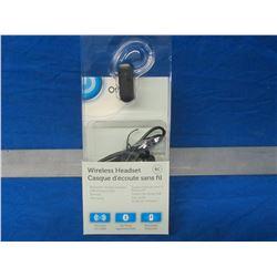 Wireless headset bluetooth