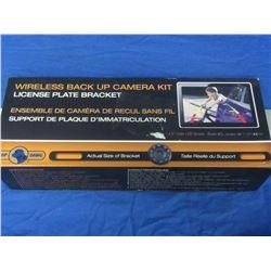Wireless back up camera kit