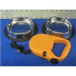 New pet bundle/2 small stainless