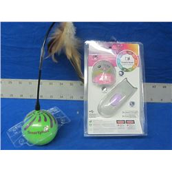 2 New cat toys/remote control