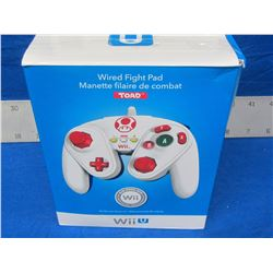 New Wii Wired Fight pad