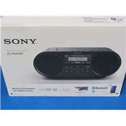 New Sony bluetooth audio system