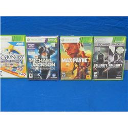 4 New X-Box 360 games