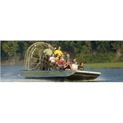 PLATTE RIVER AIRBOAT TOUR – UP TO EIGHT PEOPLE