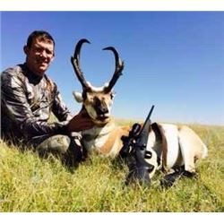 5-DAY NEW MEXICO ANTELOPE HUNT – 1 YOUTH OR ADULT