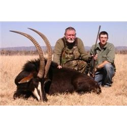 7-DAY SOUTH AFRICA SABLE & NILE CROCODILE HUNT FOR  2 HUNTERS & 2 OBSERVERS