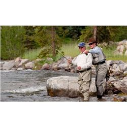 2-NIGHT ROD & REEL FRESHWATER FISHING GETAWAY FOR 2 WITH AIRFARE