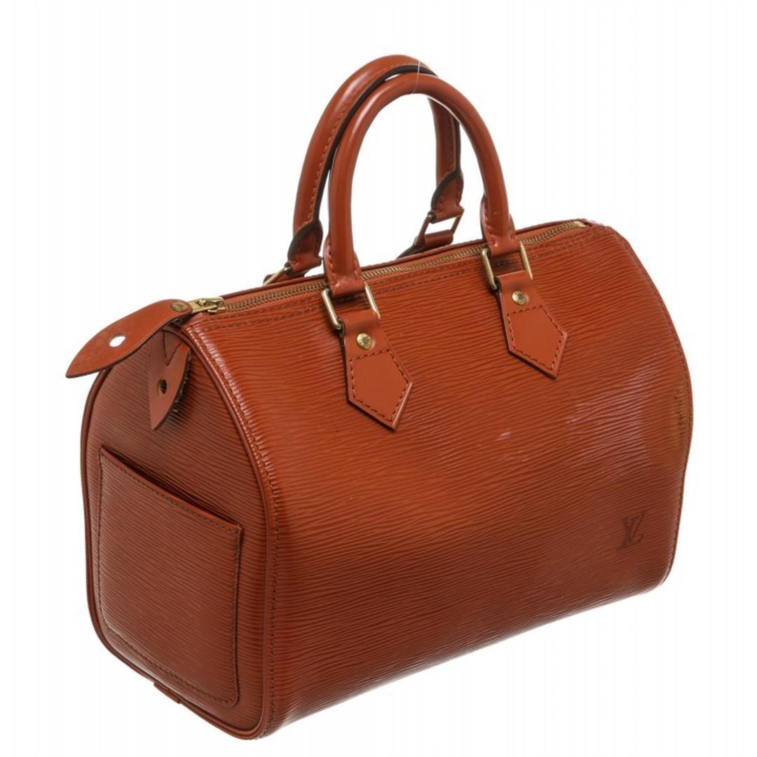 ... Image 3   Louis Vuitton Sienna Brown Epi Leather Speedy 25 cm Satchel  Bag ... 7de2fade726d1