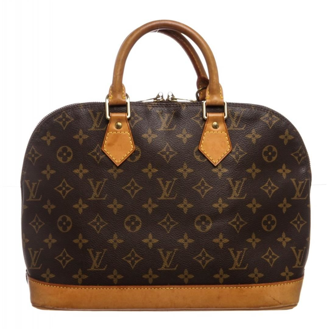 6d2f12cf9062 Image 1   Louis Vuitton Monogram Canvas Leather Alma MM Handbag ...