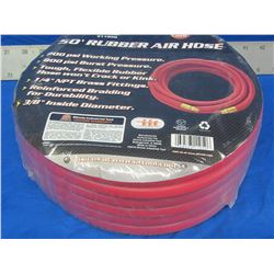 New Rubber Air Hose 50ft