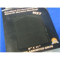 New Wet Sandpaper 20pc.