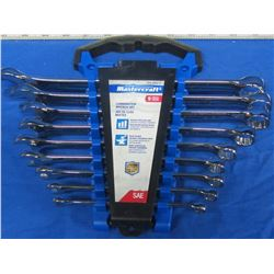 New Mastercraft wrench set
