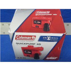 New Coleman quick pump