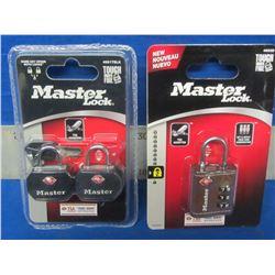 New Luggage Master Locks lot of 2