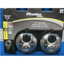 New Master Lock set of 2