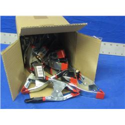 """New Box 6"""" HD Spring clamps"""