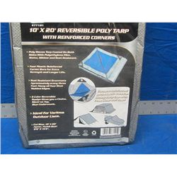 New 10x 20 Tarp reversable