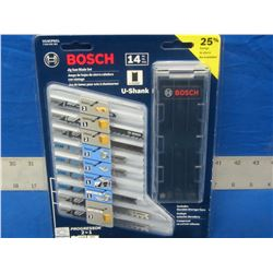 New Bosch jig saw blades 14pc.