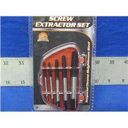 New Screw extractor set 5pc
