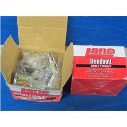 New 2 box  Lane Deadbolts
