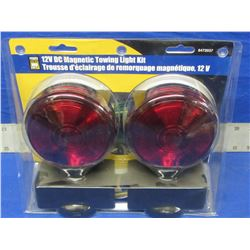 New powerfist 12volt magnetic  tow light kit
