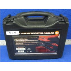 New 25ft 1 gauge Booster Cables