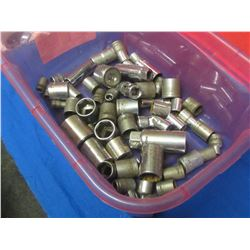 Mastercraft sockets over 40 assorted